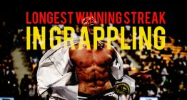 Who Has The Longest Winning Streak in Grappling?