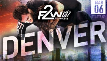 F2W 137 Results: Jake Watson Beats Rudson Mateus And Team Logos Makes Its Mark in Colorado