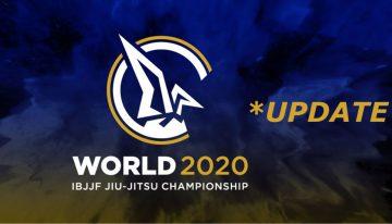 IBJJF World Championship Postponed – Canceled