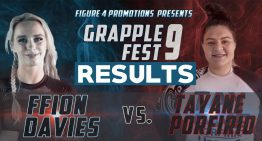 GrappleFest 9 Results, Ffion Davis and Tayane Porfirio Went To War In Match Of The Year!