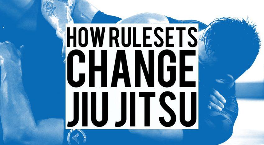 How Rules Change Jiu-Jitsu 2.0