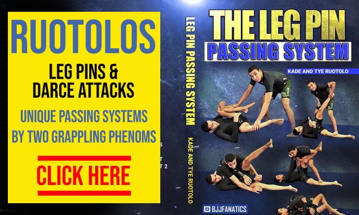 Ruotolo Brothers Leg Pins and Darce Attacks