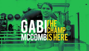 Pans Champ Gabi McComb Returns To The Gi After Sub-Only Stint