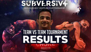 SUBVERSIV 4 Results, Atos Dominates Teams Tournament