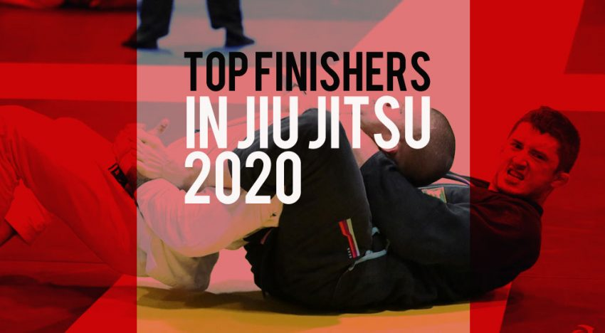 Top Finishers in Jiu Jitsu 2020