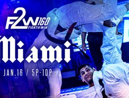 F2W 160 Results, Tackett and Combs Put On A Show In Miami