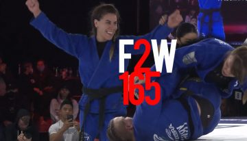 F2W 165 Results, Flawless Performance By Monteiro In Dallas, Elisabeth Clay Subs Malyjasiak