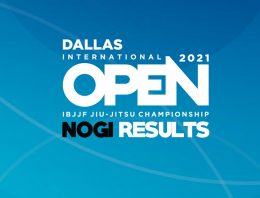 Dallas No-Gi Open Results, Rosa Takes First HH In IBJJF History And Tex Gets The Double In Texas