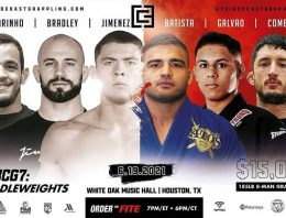 This Weekend's 3CG GP Will Debut Batista's In No-Gi And Feature Pat Downey, Mica, Jimenez And Co
