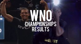 WNO Results, Spriggs Upsets HW Division, Ruotolos On Fire, Bastos Beats Gundrum And More