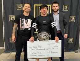 Diego Pato Takes Gold At Star Studded EUG 155 lbs No-Gi Tournament